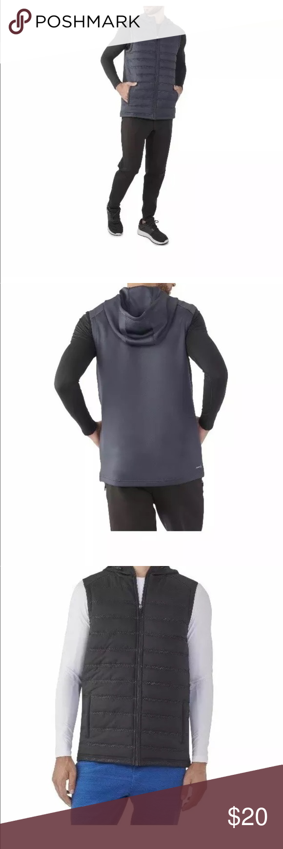 Russell performance vest, with hood NWT in 2019 | Poshing