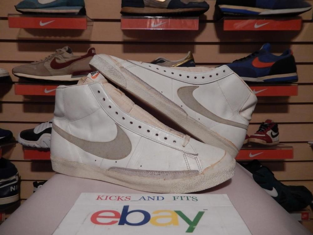 Vintage 1970's Nike Blazer Made in Japan size 16 & 17 PE? Mismate Rare og  sample