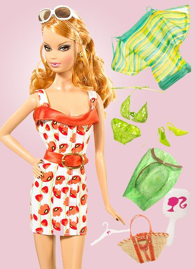 Blog Cz Barbie Top Model Summer Fashion Accessories