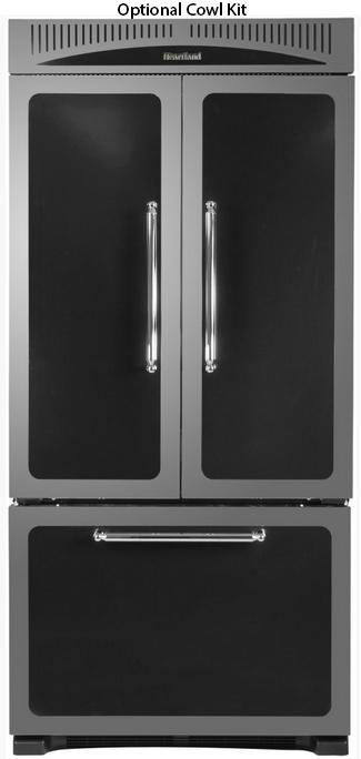 Classic 36 226 Cu Ft Black Counter Depth French Door