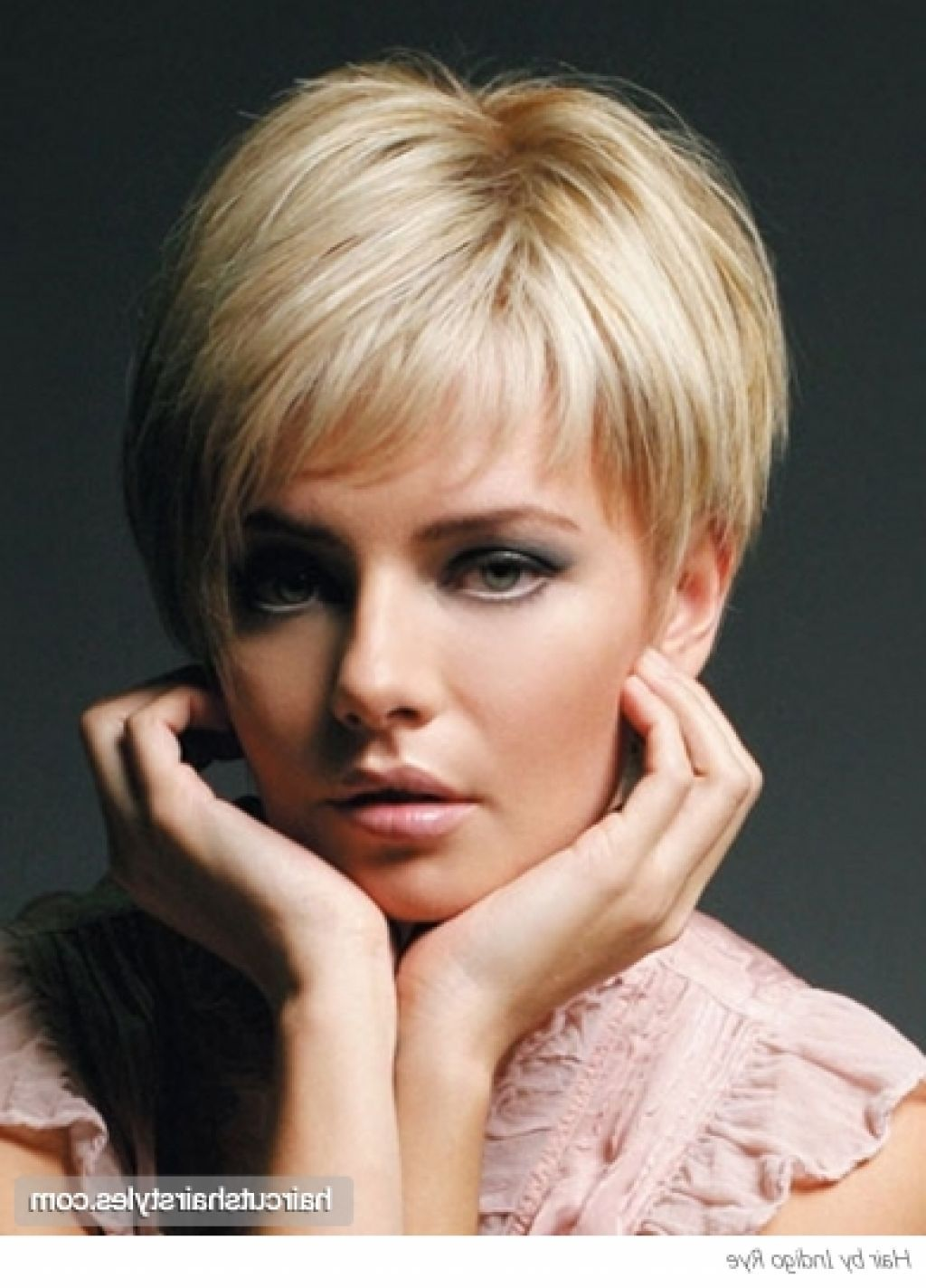 Short haircuts for women over back view google search