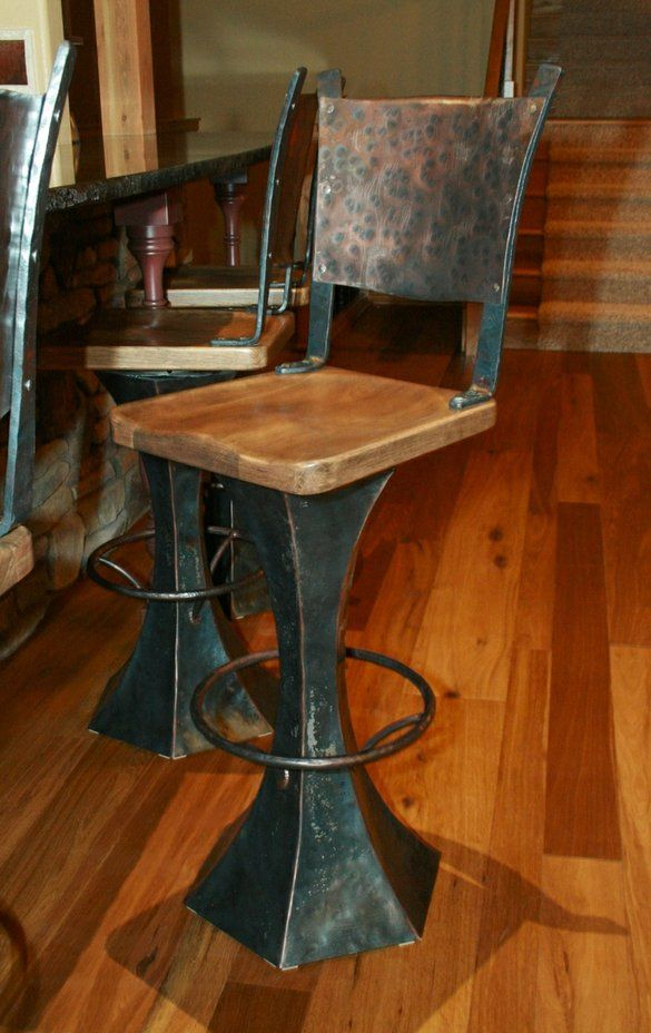 Outside Bar Stools I Love These So Cool For The Rustic Hunting Lodge Western Inspired Room