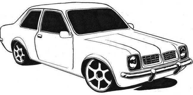 Desenho Fusca Carros Para Colorir Desenhos De Carros Antigos