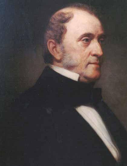 Dr. Valentine Mott (1785 - 1865).