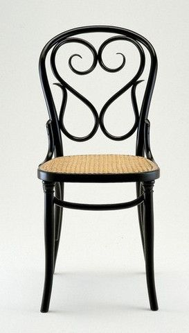 ah, the beautiful serpentine back of the michael thonet designed