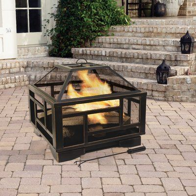 Solus Deep Wood Burning Fire Pit Backyard Pinterest Wood