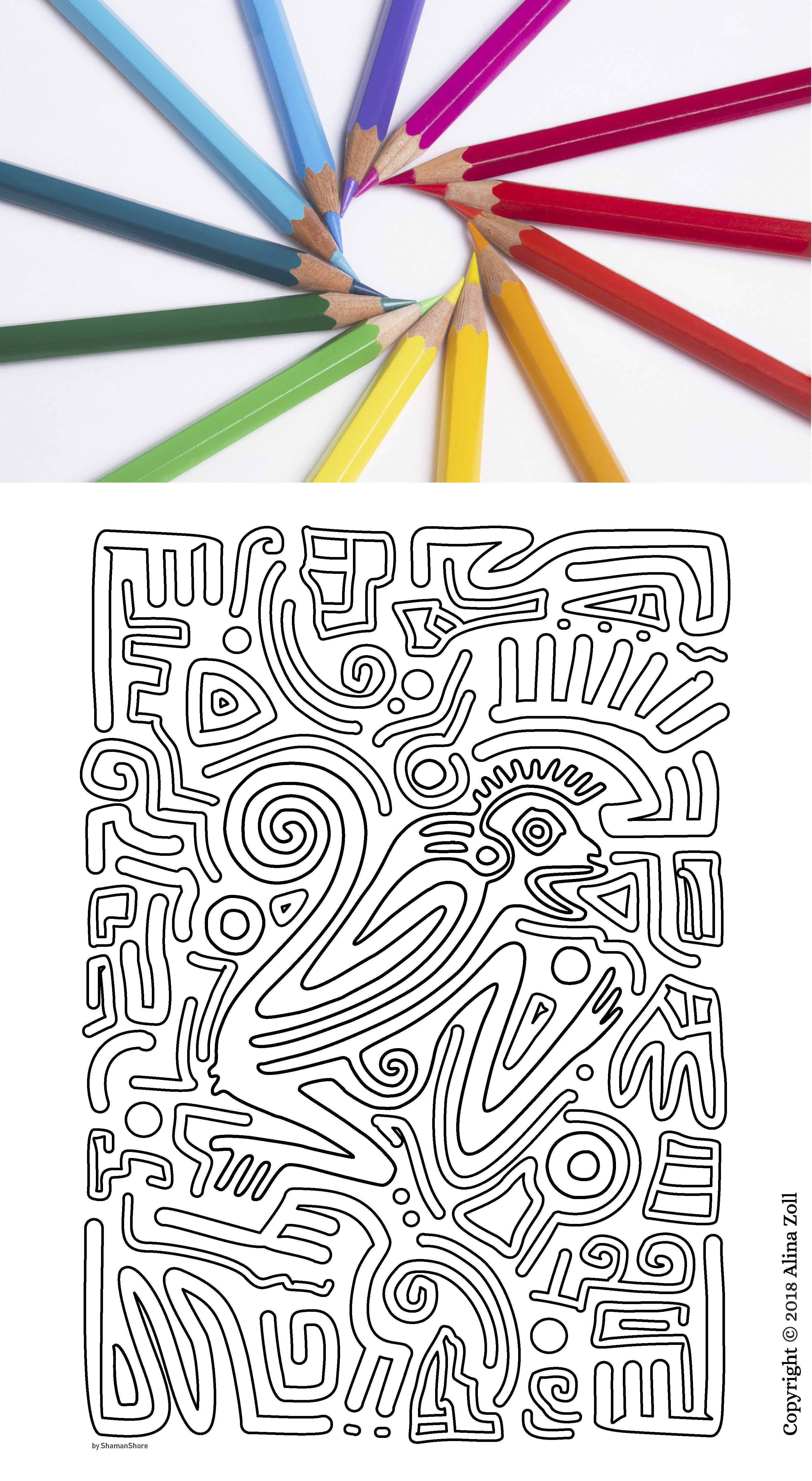 Adult Coloring Book Pdf, 15 Tribal Adult Coloring Pages ...