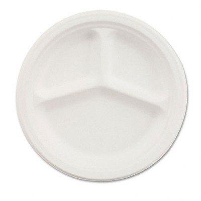 Chinet Divided Paper Plates 9-1/4  Diameter White 500  sc 1 st  Pinterest & Chinet Divided Paper Plates 9-1/4