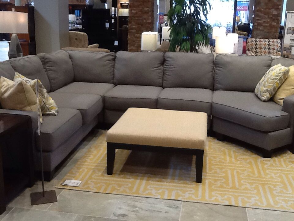 Sectional with all options: U, chaise, cuddle seat, or ...