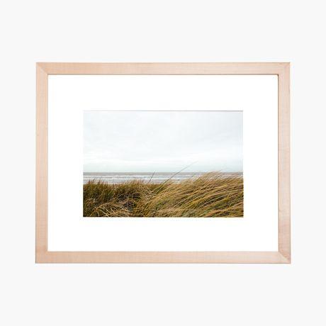 i love this frame from framebridge - Natural Wood Frames