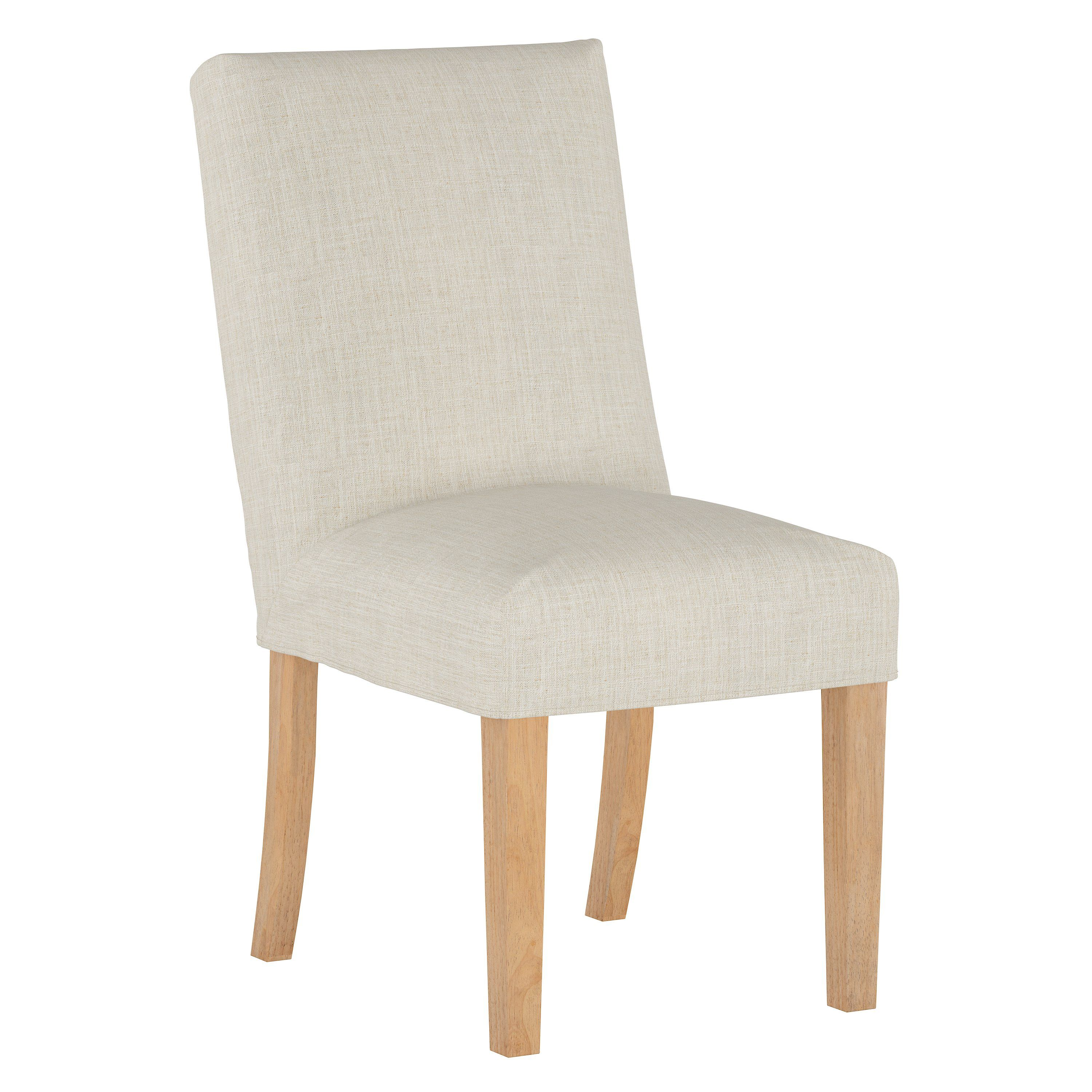 Cream Slipcover Upholstered Dining Room Chair Jennifer