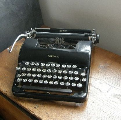 Superb Vintage Smith Corona Silent Manual 1940s Typewriter