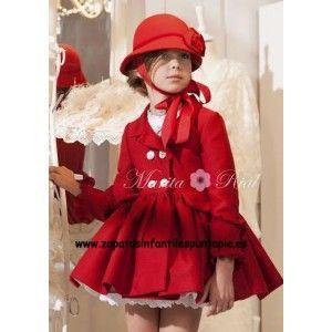 d2ffb429 ABRIGO MARITA RIAL   peques de invierno   Moda infantil, Ropa para ...