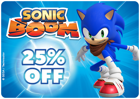Sprint into action with Sonic, Tails and friends with up to 25% off Sonic Boom! http://www.thetoyshop.com/brands/sonic #BOOMTIME