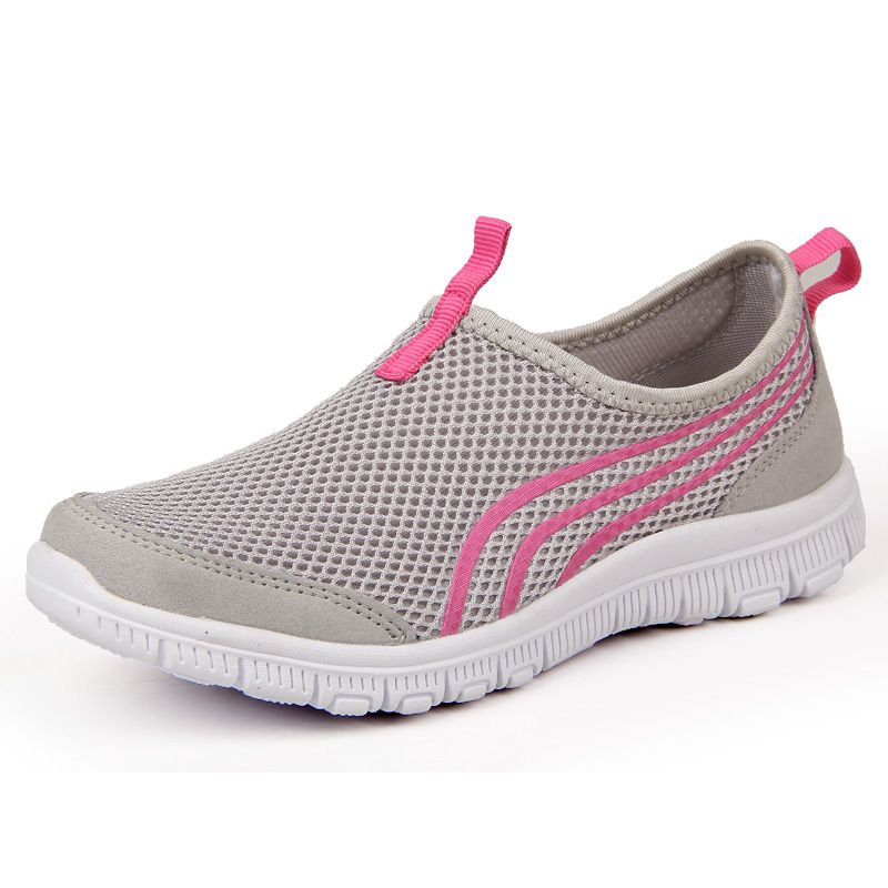 2017 Women Casual Shoes Fashion Breathable Casual Mesh Women Shoes ...