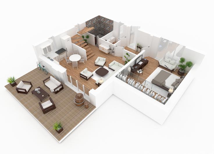 3d Interieur Inrichten : Gratis d roomplanner interieur inspiratie
