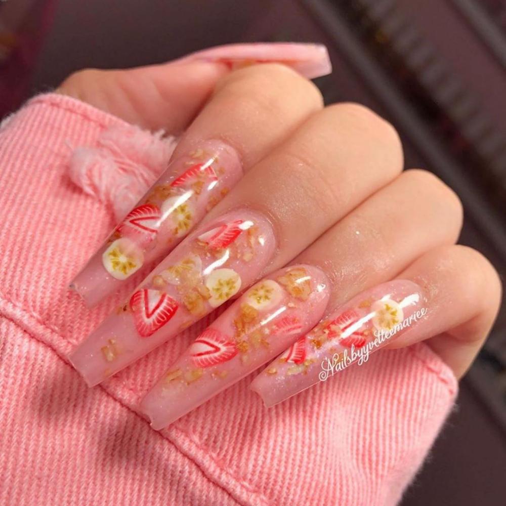 29 Alluring Fruit Nails Art Designs In Summer 2019 Fruit Nail Art Fruit Nail Designs Luxury Nails