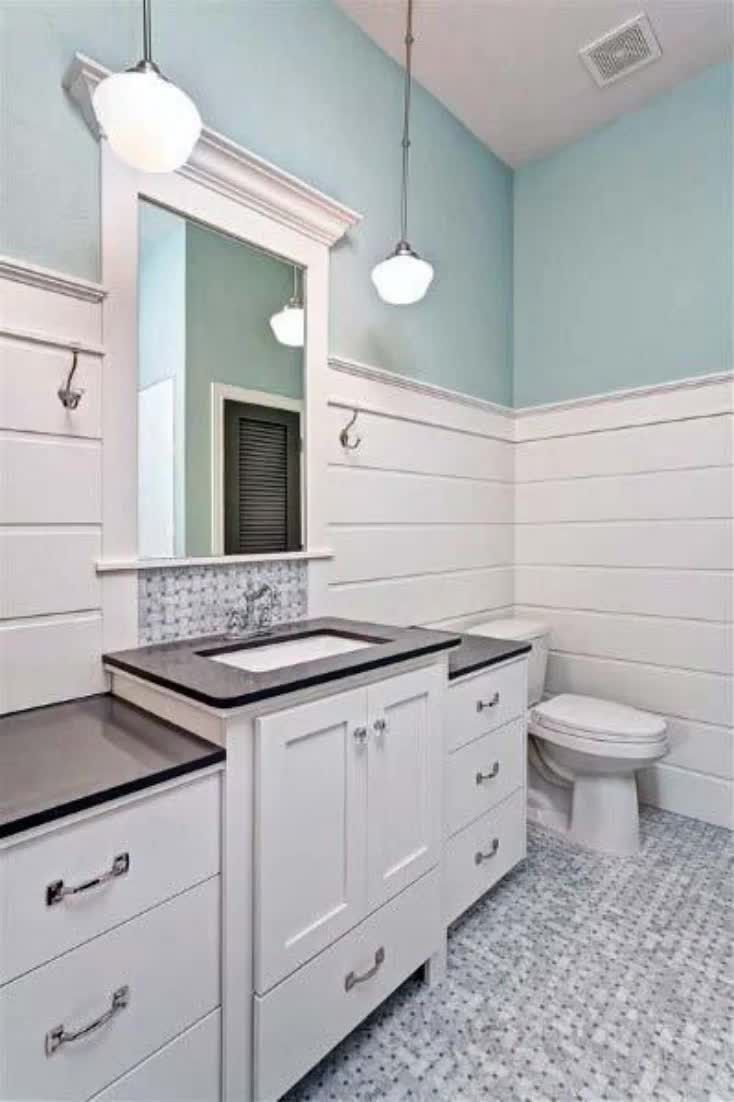 Photo of Top 50 Best Shiplap Bathroom Ideas – Nautical Inspired Wall Interiors
