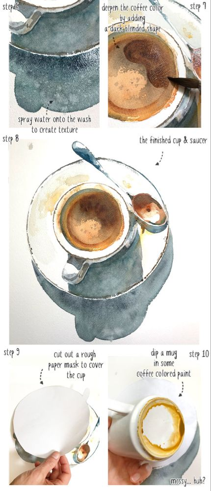 watercolor-coffee-cup-part03 #coffeecup