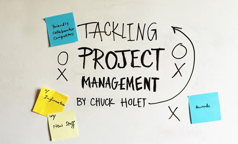 Tackling Project Management, by Chuck Holet I was asked to write a