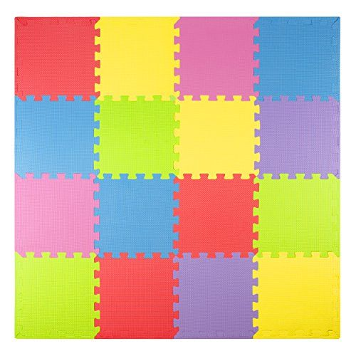 Foam Play Mats 16 Tiles Borders