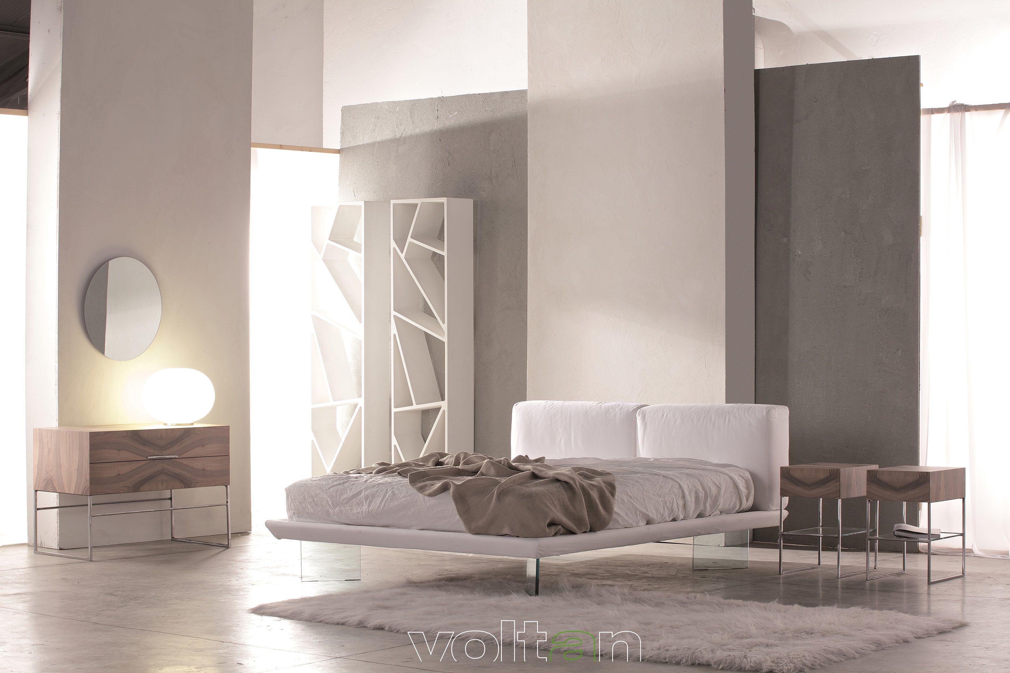 Comò Camera Da Letto Moderna : Camera da letto moderna elegante letto oplà in tessuto