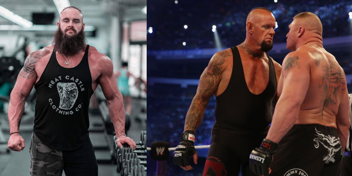 Wwe Rumors Roundup Braun Strowman Uncertain Wwe Future Undertaker Wrestlemania Streak Breakup Plan Braun Strowman Wwe Vince Mcmahon
