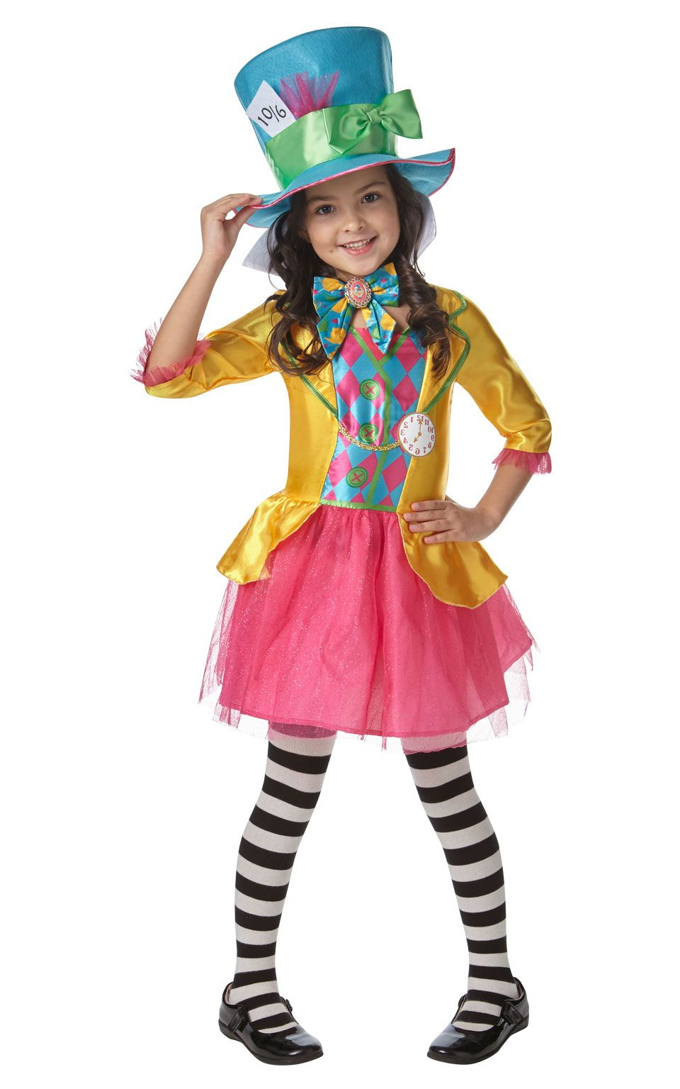 Tights Ladies Fancy Dress World Book Day Womens Fairytale Adult Costume Alice