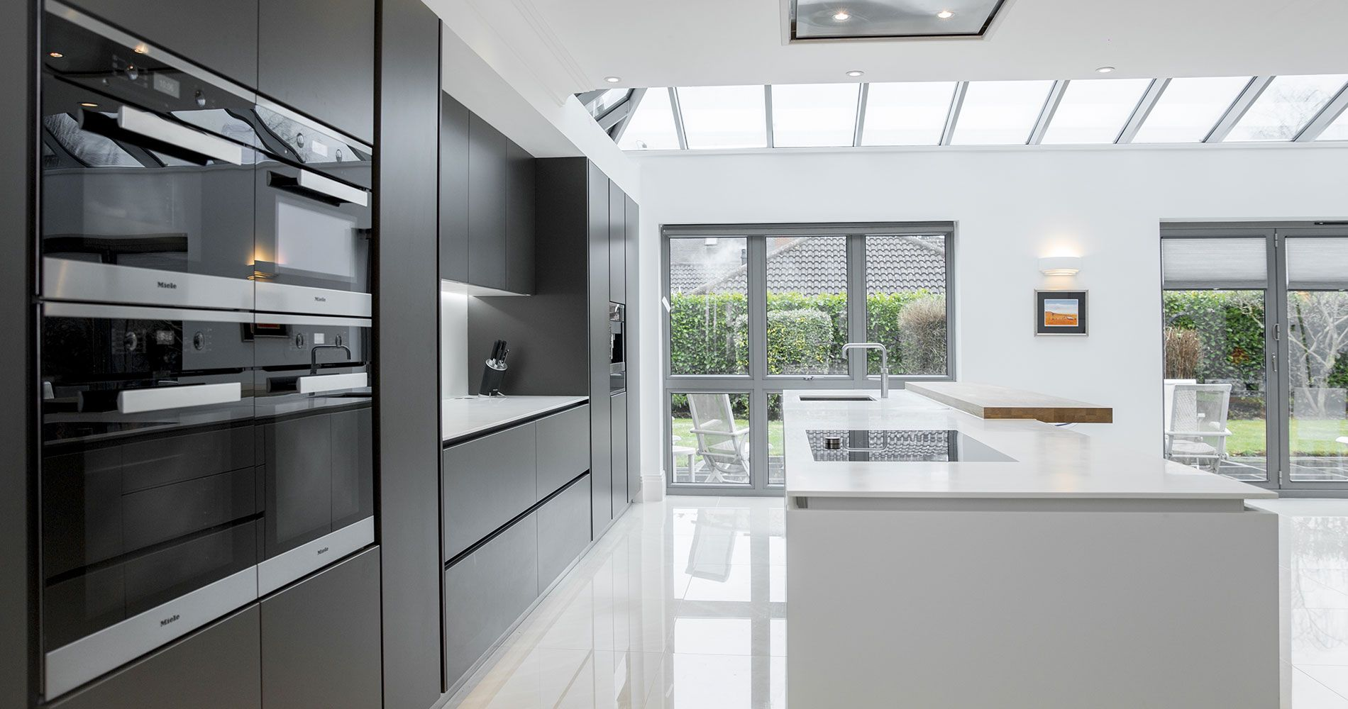 Innova küchen ~ Innova cento graphite modern kitchen graphite kitchens and modern