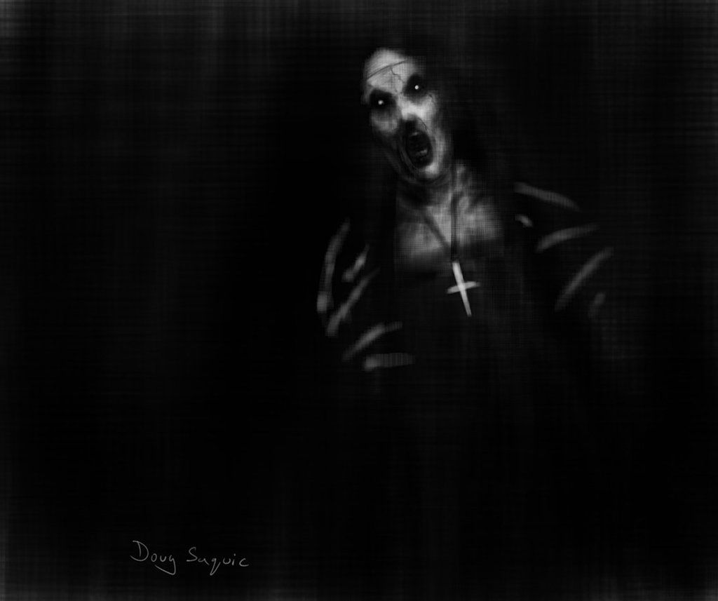 The Conjuring Nun by DougSQ on DeviantArt
