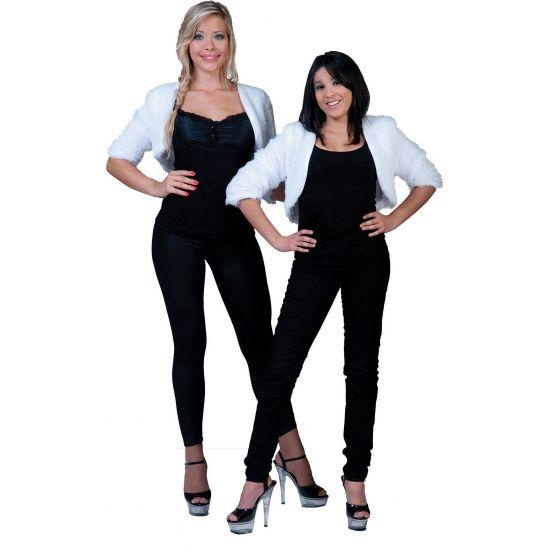 Pluizig bolero jasje  Pluizige bolero dames jasje. One size model(S/M). Gemaakt van 100 procent polyester.  EUR 19.95  Meer informatie