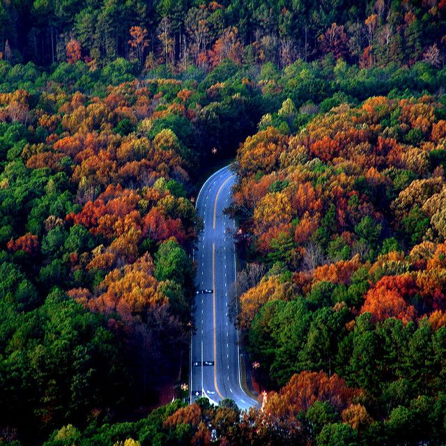 Places To Visit In The Fall In Usa: Stone Mountain Georgia