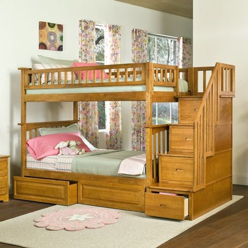 Best Multi Functional Beds For Small Kids' Bedroom Staircase 400 x 300