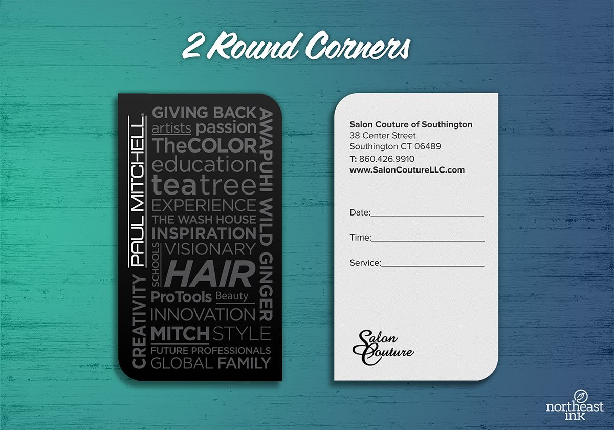 Paul mitchell salon business card 2 round corners business paul mitchell salon business card 2 round corners magicingreecefo Gallery