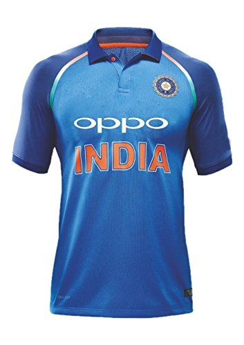 330ca3bd5 Kd Team India Odi Cricket Supporter Jersey 2017-2018 - Kids To Adult ...