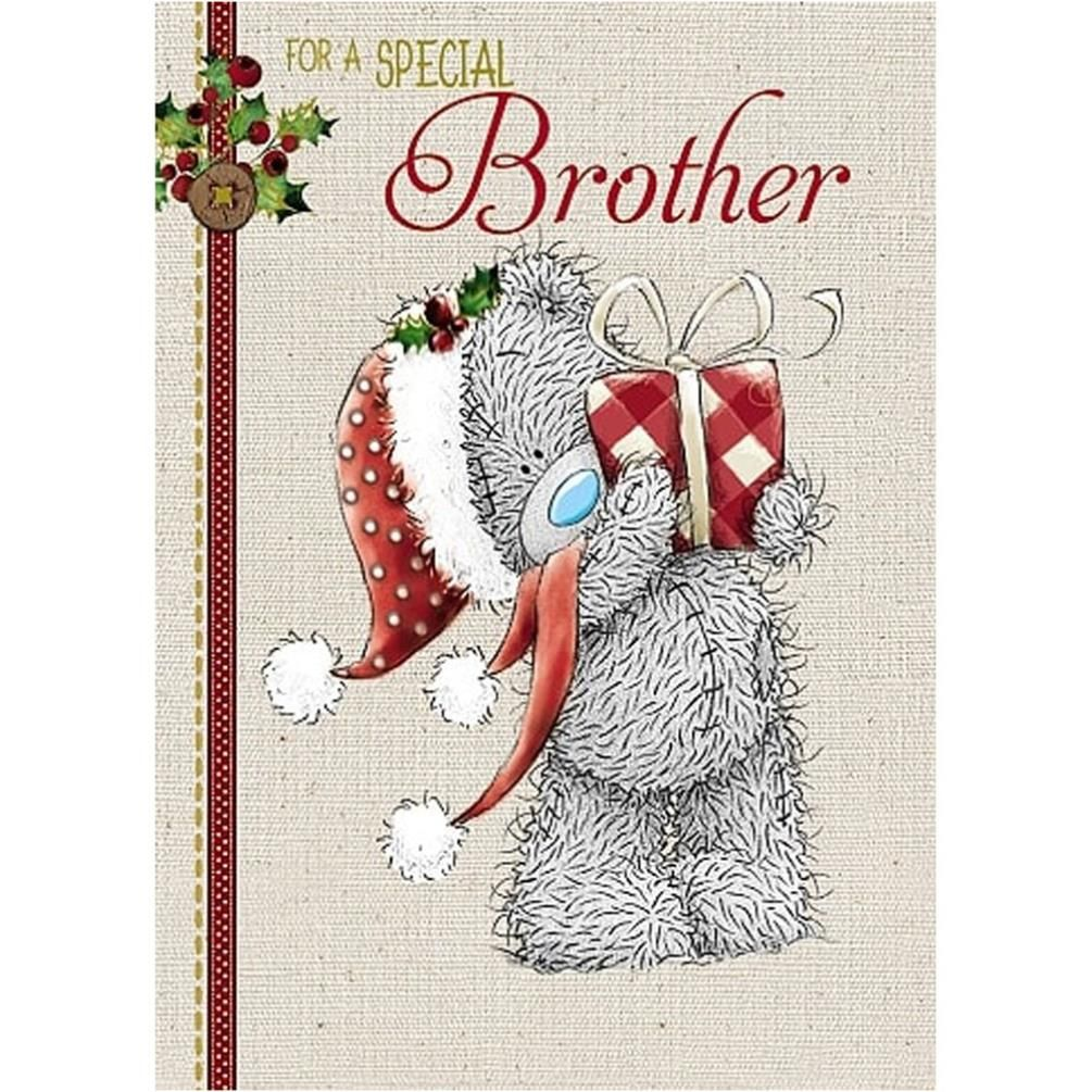 Lovely Brother Me to You Bear Christmas Card £1.79