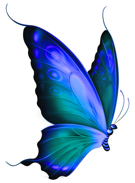 transparent blue and green deco butterfly clipart r s book rh pinterest com blue butterfly clipart images free blue butterfly clipart