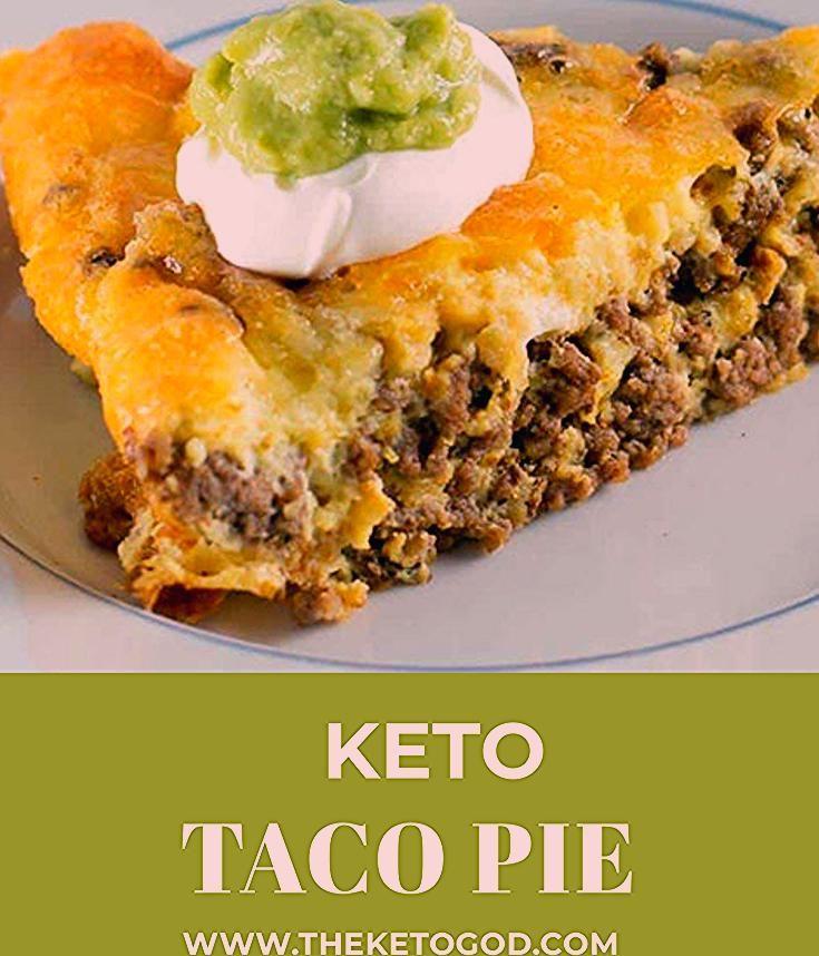 Keto Taco Pie - Der Keto-Gott,  #der #Keto #KetoGott #Pie #Taco