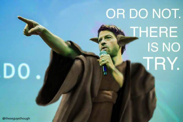 """Misha Collins on Twitter: """"I'm a sell-out. I got work done on my ears so i could conform to traditional motivational-speaker beauty standards. https://t.co/3PlJ7S8dF6"""""""