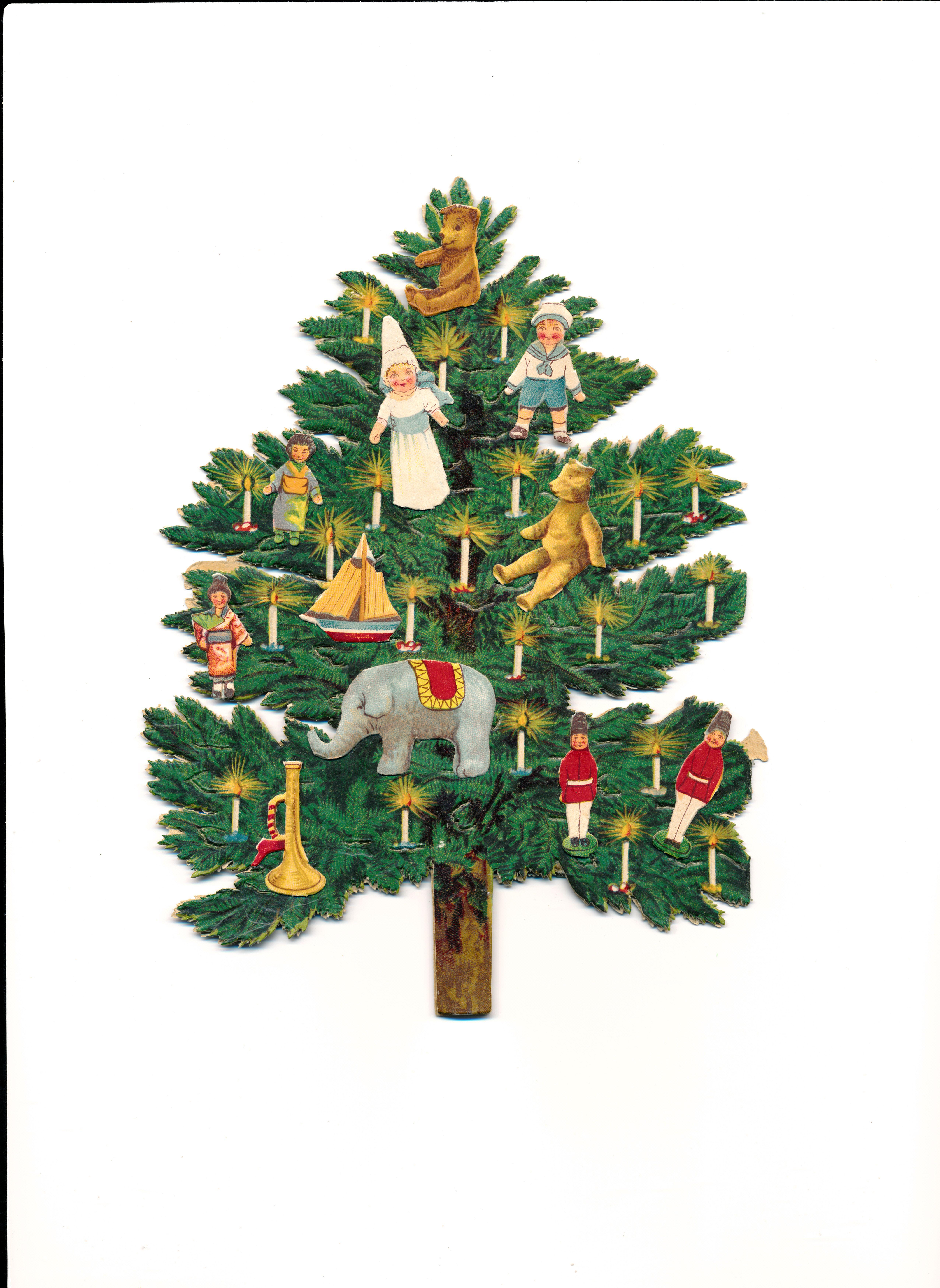 christmas tree victorian