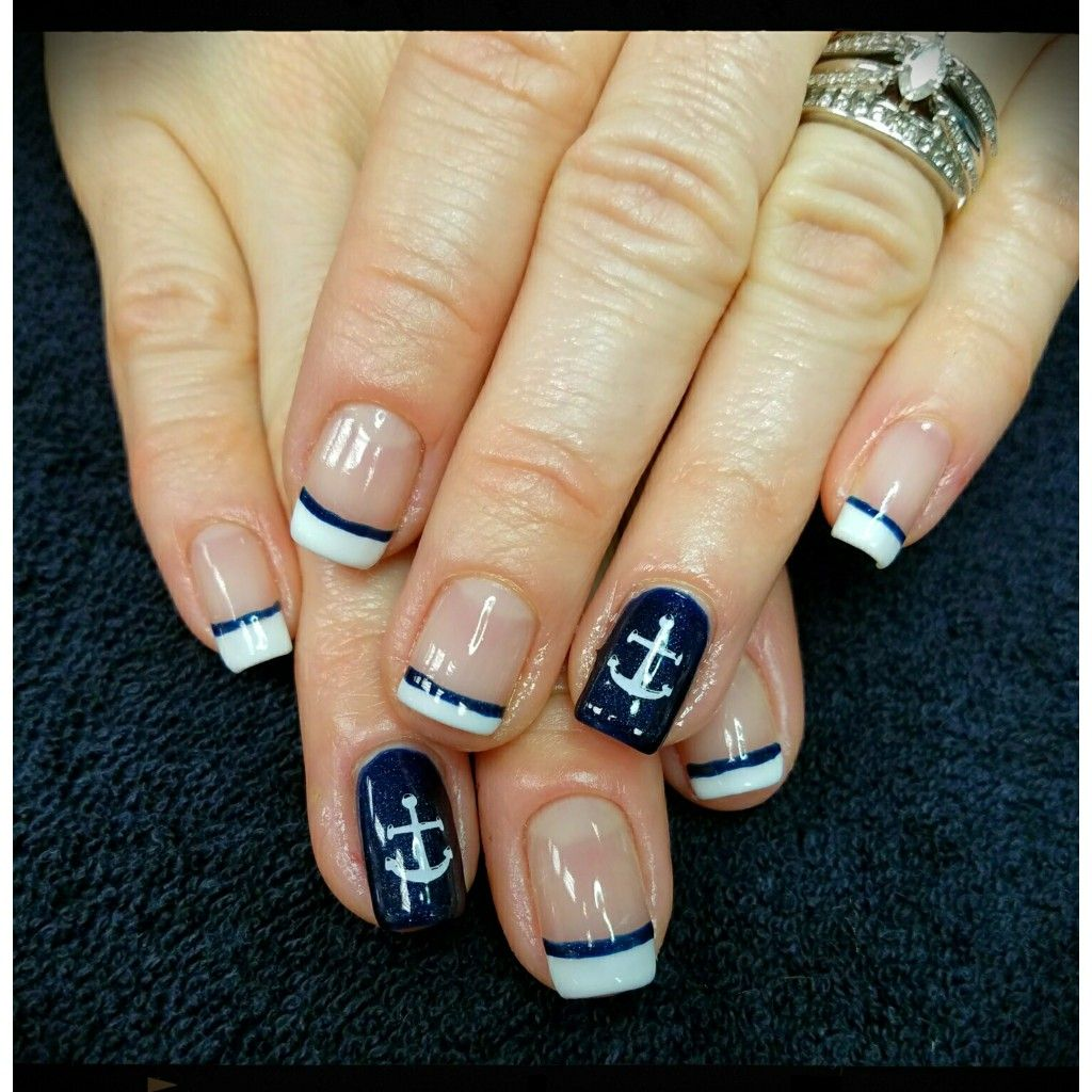 Cruise Nails Cruise Nails Nautical Nails Vacation Nails