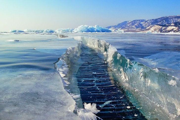 Lac Baikal, Russie