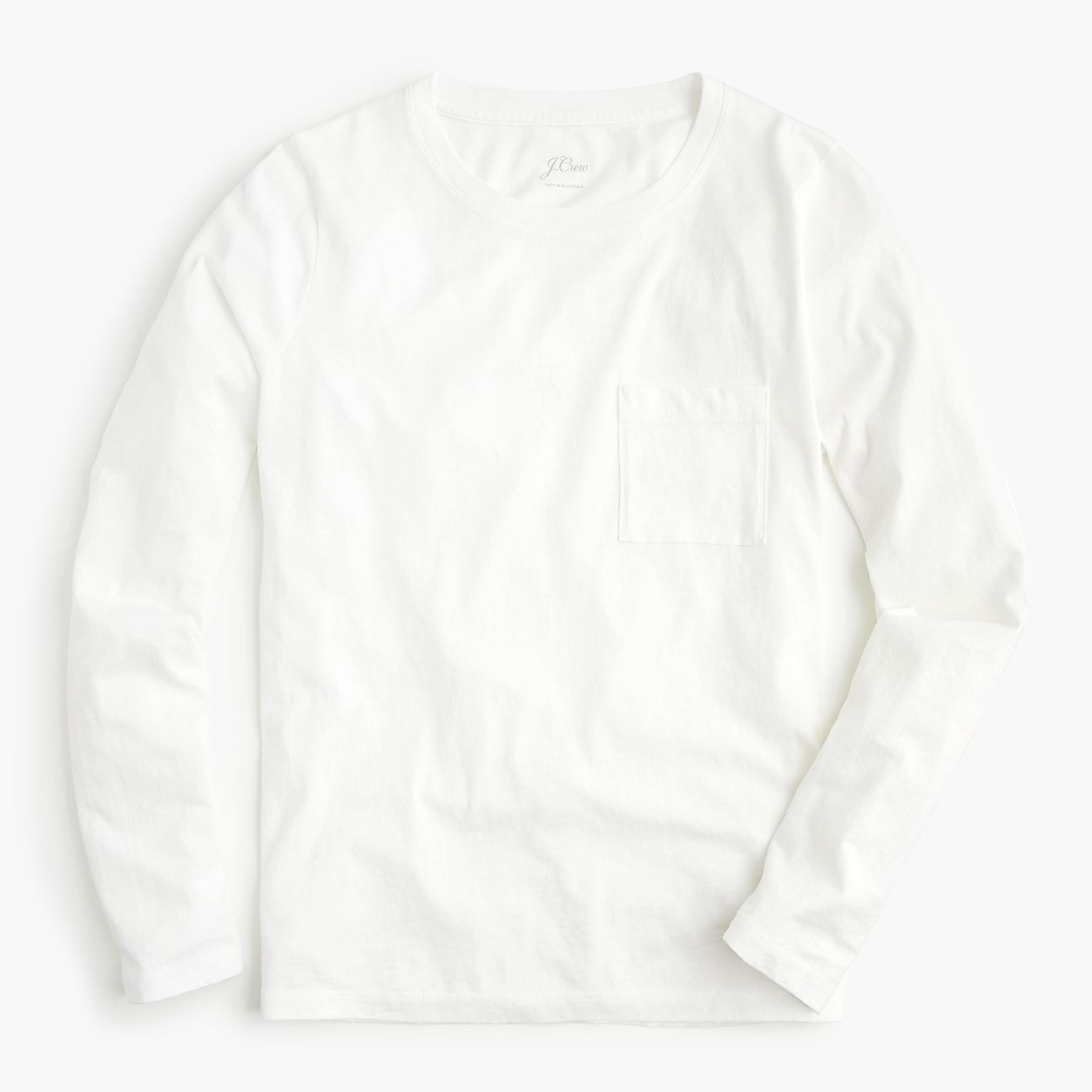 04a0e44f2a55 Broken-In Long-Sleeve Pocket T-Shirt | Products | Crew clothing, T ...
