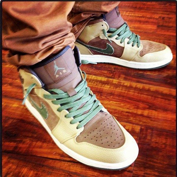 Air Jordan 1 High Military | Popular sneakers, Jordans girls ...