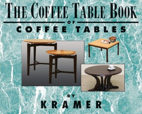 A Coffee Table Book About Coffee Tables by Cosmo Kramer Luciens