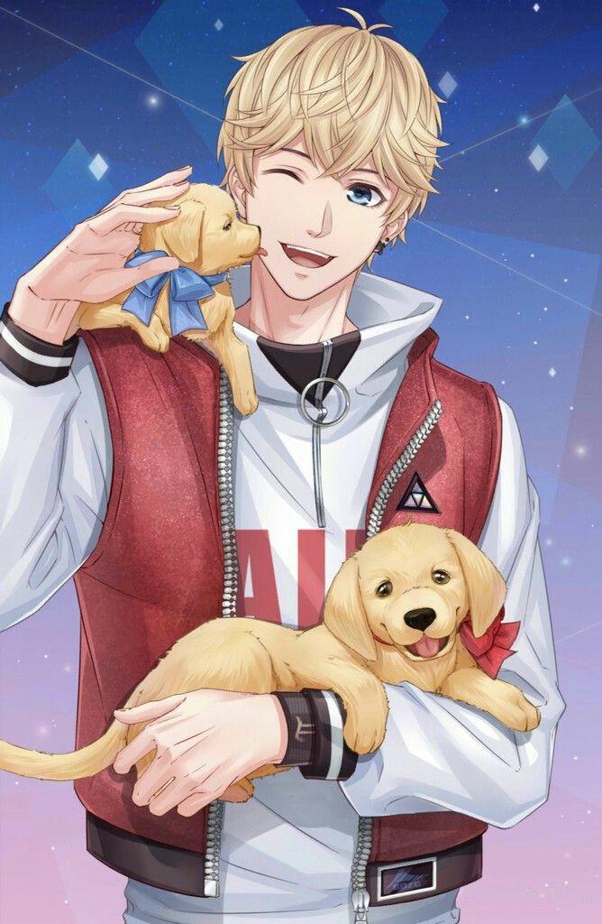 Anime puppy image by Ipshita das on anime Cute anime