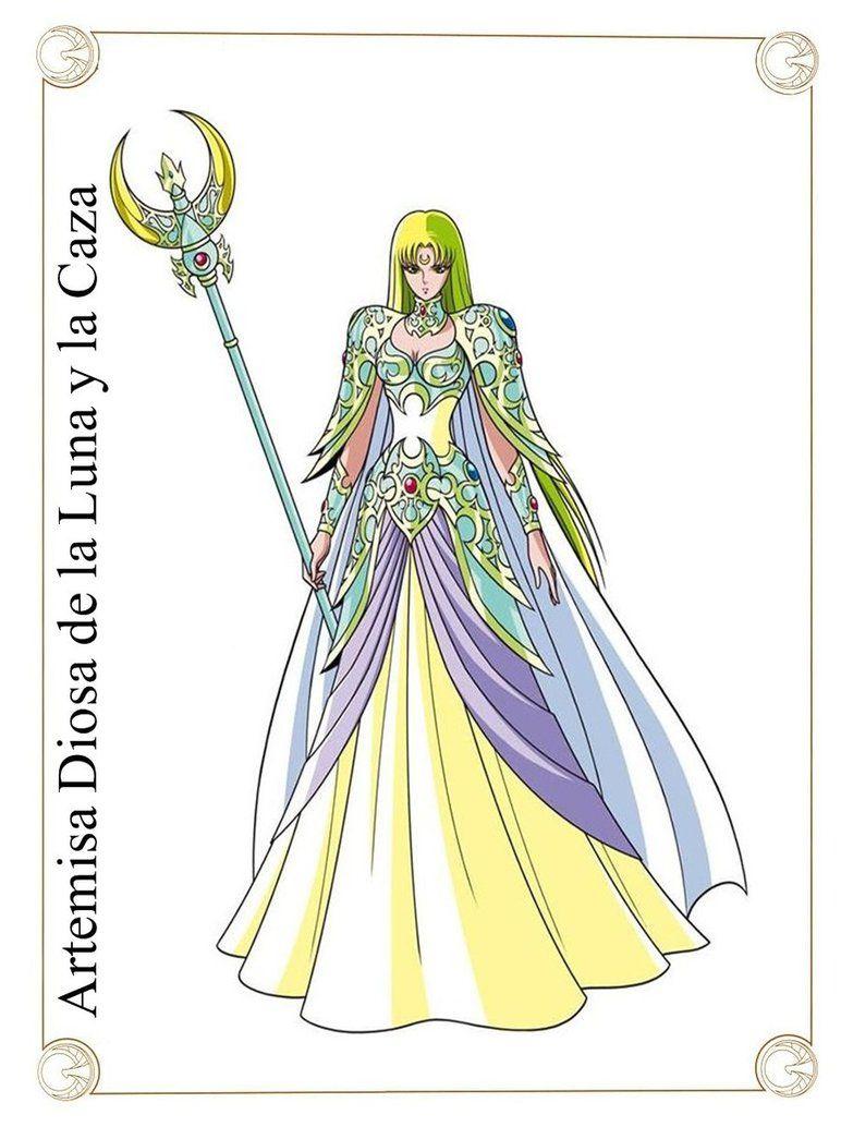 Artemisa Diosa de la Luna y la Caza by Javiiit0 on DeviantArt ...