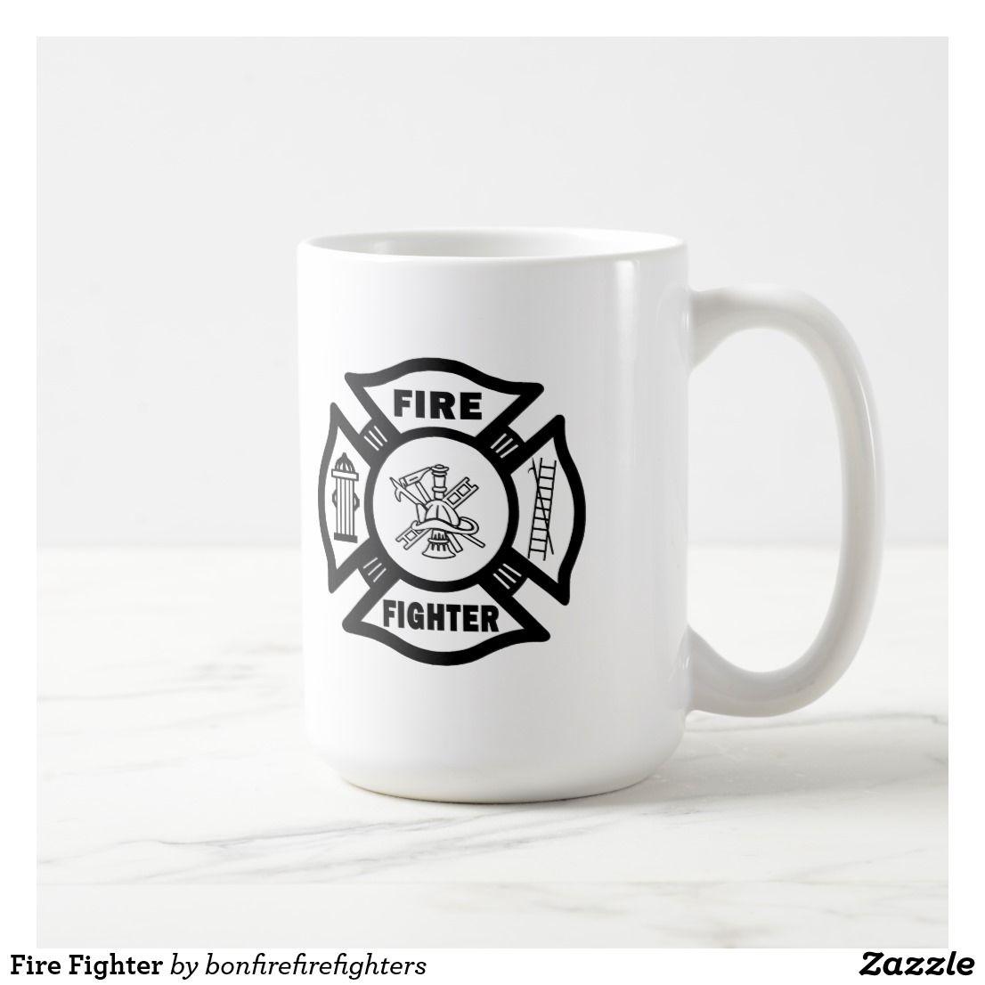 Fire fighter coffee mug mugs firefighter