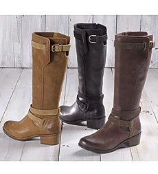 239d381f875 Darcie Boot from UGG® Australia features raised heal, suede straps ...