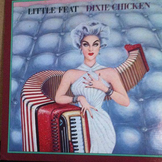 Little Feat Dixie Chicken White Label Promo Vinyl Rock